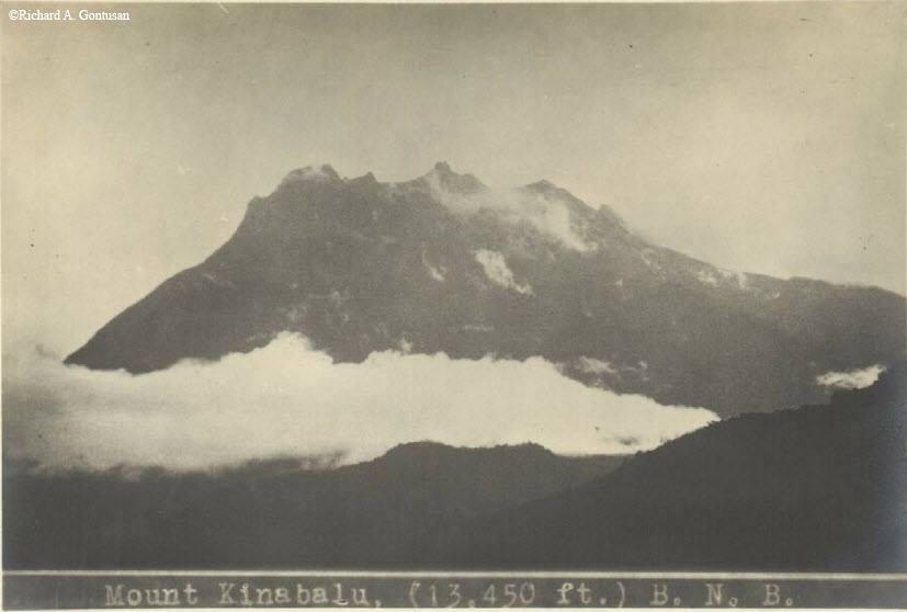 Mt Kinabalu 1920s